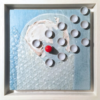 Red Dot 1 – mixed media  2020